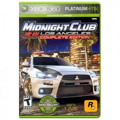 Midnight Club: Los Angeles (Complete Edition) - Xbox 360
