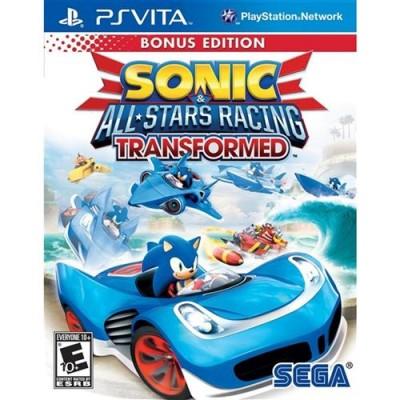 Sonic All Star Racing Transformed - Ps Vita