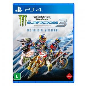 Monster Energy - SuperCross 3 - PS4